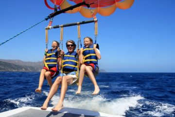 Image of Rocky Point Fishing Parasailing.